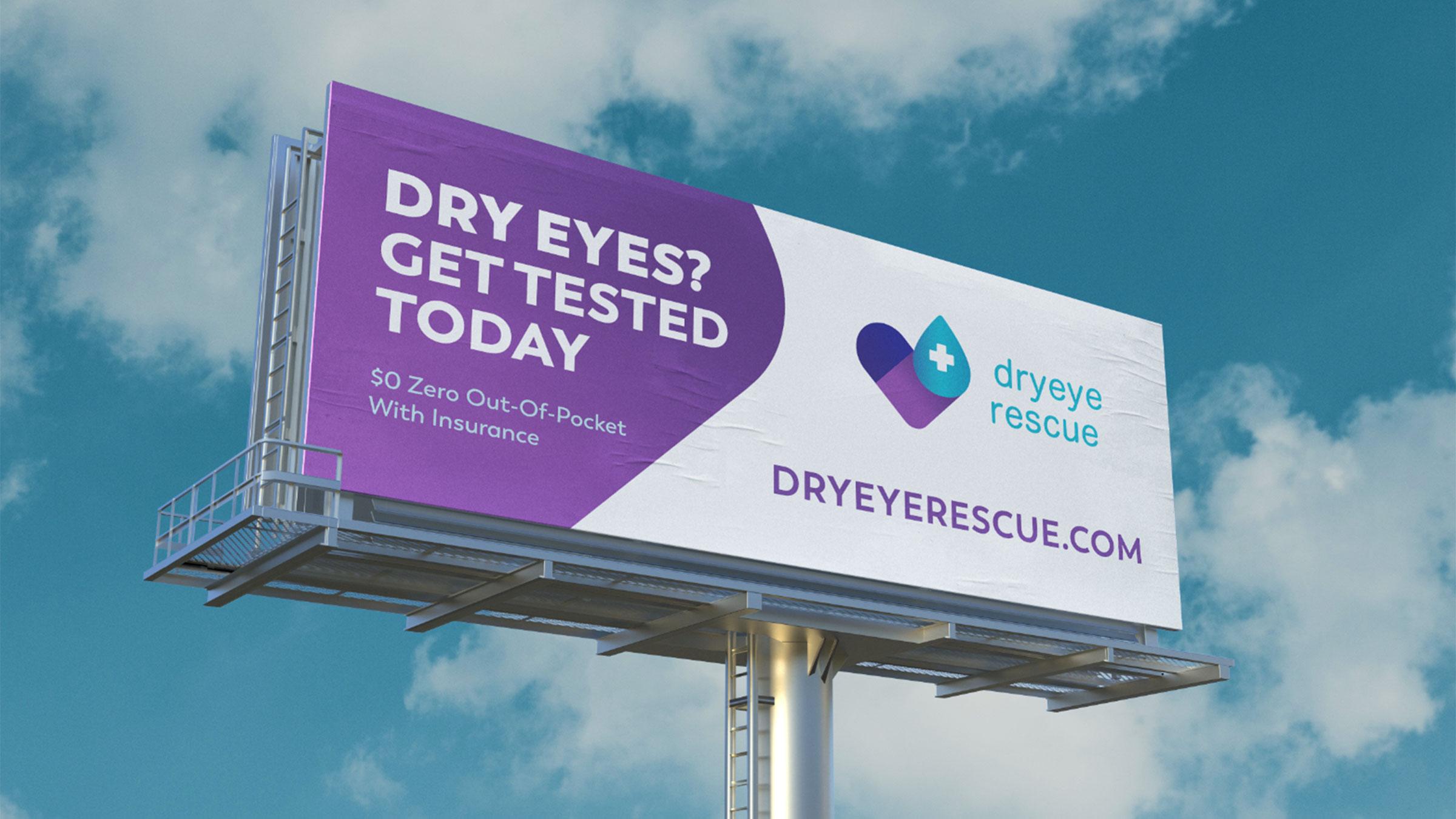 dryeye rescue billboard